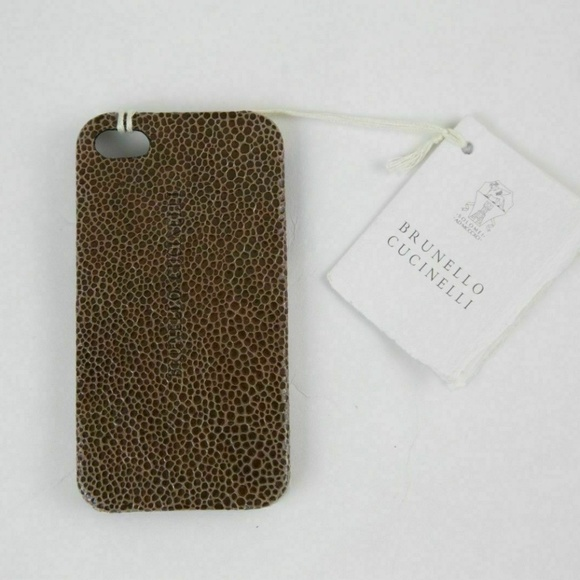 Brunello Cucinelli iPhone 4 Designer Case!